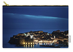 Dubrovnik Old Town At Night Carry-all Pouch