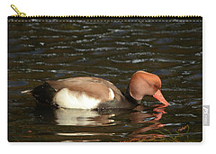 Duck On Water Carry-all Pouch