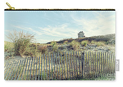 Dune Fence And Grass Carry-all Pouch