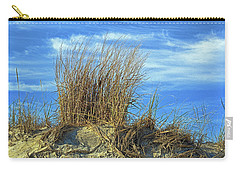 Carry-all Pouch featuring the photograph Dune Grass In The Sky by Bill Swartwout Fine Art Photography