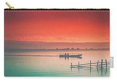 Dusk At Lake Poso  Carry-all Pouch