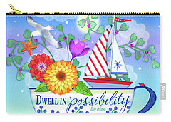 Dwell In Possibility Carry-all Pouch