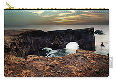 Dyrholaey Viewpoint In Iceland Carry-all Pouch