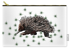 E Is For Echidna Carry-all Pouch