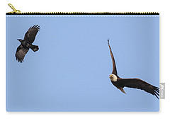 Eagle And Crow  Carry-all Pouch