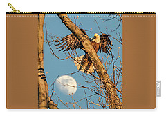 Eagle And Moon  Carry-all Pouch
