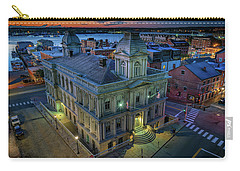 Carry-all Pouch featuring the photograph Early Morning In The Old Port by Rick Berk