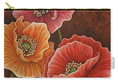Carry-all Pouch featuring the painting Earth Serenade by Amy E Fraser