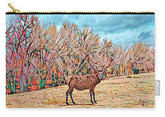 Carry-all Pouch featuring the photograph East Of Kiowa by Mike Braun