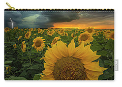 Carry-all Pouch featuring the photograph Eccentric  by Aaron J Groen