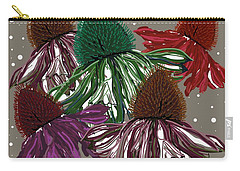 Echinacea Flowers Dance Carry-all Pouch