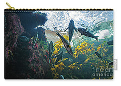 Ecosystem In A Kelp-filled Tank Carry-all Pouch