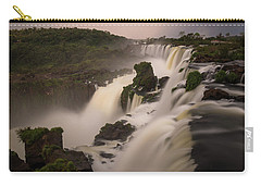 Carry-all Pouch featuring the photograph Edge Case by Alex Lapidus