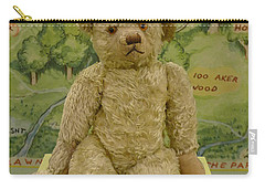 Edward Bear - The Original  Winnie The Pooh Carry-all Pouch