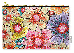 Efflorescent 4 Carry-all Pouch