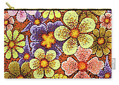 Efflorescent 6 Carry-all Pouch