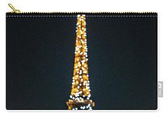 Carry-all Pouch featuring the photograph Eiffel Tower by Randy Scherkenbach