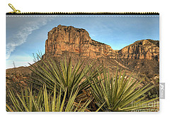El Capitan Of Texas Carry-all Pouch