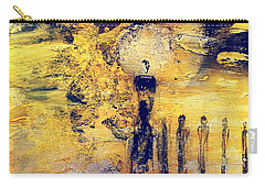 Carry-all Pouch featuring the painting Elaine by 'REA' Gallery
