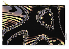 Elegant Black Fractal 2 Carry-all Pouch