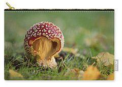 Carry-all Pouch featuring the photograph Elf's House by Mary Jo Allen
