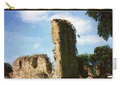 Elgin Cathedral Ruins Painting Carry-all Pouch