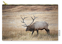 Elk In Yellowstone National Park Carry-all Pouch