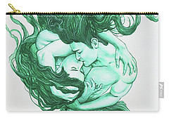 Embracing Mermen Carry-all Pouch