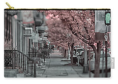 Empty Sidewalk Carry-all Pouch