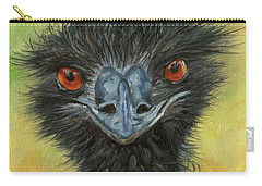 Australian Wildlife Paintings Carry-All Pouches