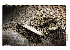 End Of The Line Mine Carry-all Pouch