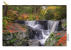 Carry-all Pouch featuring the photograph Enders Falls Autumn 2018 by Bill Wakeley