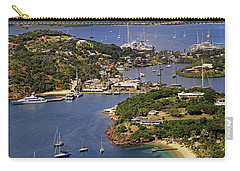 Carry-all Pouch featuring the photograph English Harbour by Tony Murtagh