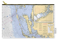 Estero Bay To Lemon Bay, Noaa Chart 11426 Carry-all Pouch
