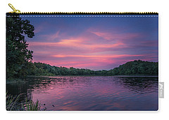 Evening At Springfield Lake Carry-all Pouch