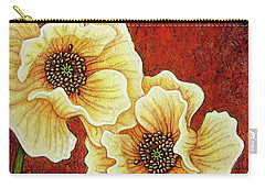 Carry-all Pouch featuring the painting Evening Embers by Amy E Fraser