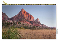 Evening Vista At Zion Carry-all Pouch