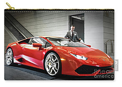 Carry-all Pouch featuring the photograph Executive Experience by Brad Allen Fine Art