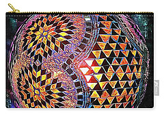 Exotic Oriental Mosaic Carry-all Pouch