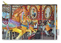 Carry-all Pouch featuring the photograph Fab Ride by Jamart Photography