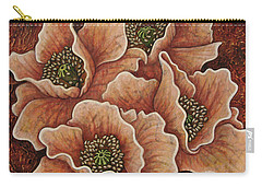 Carry-all Pouch featuring the painting Fading Glory by Amy E Fraser