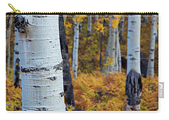 Fall Aspen Forest Carry-all Pouch