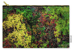 Carry-all Pouch featuring the photograph Fall Color Along The Big Tom by Jon Burch Photography