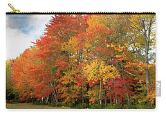 Carry-all Pouch featuring the photograph Fall Colors by Doug Camara