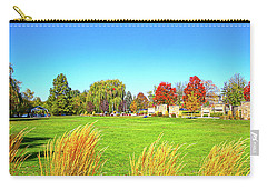 Carry-all Pouch featuring the photograph Fall Colors In Boise, Idaho by Dart and Suze Humeston