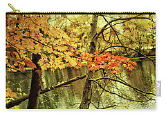 Fall Foliage Gratitude Artwork Carry-all Pouch