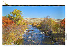 Carry-all Pouch featuring the photograph Fall Foliage In Idaho by Dart and Suze Humeston