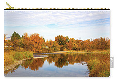 Carry-all Pouch featuring the photograph Fall In Emmett, Idaho by Dart and Suze Humeston