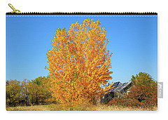 Carry-all Pouch featuring the photograph Fall In Idaho by Dart and Suze Humeston