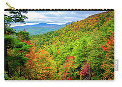 Carry-all Pouch featuring the photograph Fall In The Smokies by Andy Crawford
